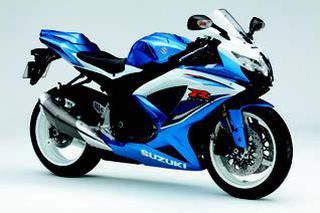 スズキ GSX-R600 2009 年