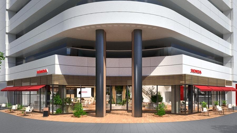 画像: 外装は、外に面したガラス面を拡大することで、屋外からプラザ内やカフェが見渡せる開放的なデザインに。