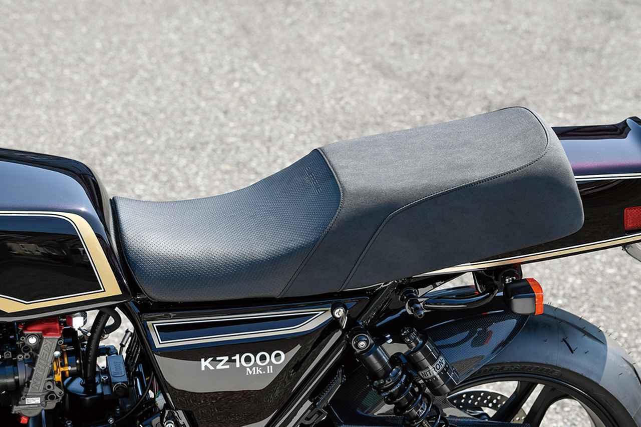 画像: シートもマッコイ・スプリームを装着。しっかりしたベース、ホールド感の高いインナー/表皮によってコントロール性も高まる。