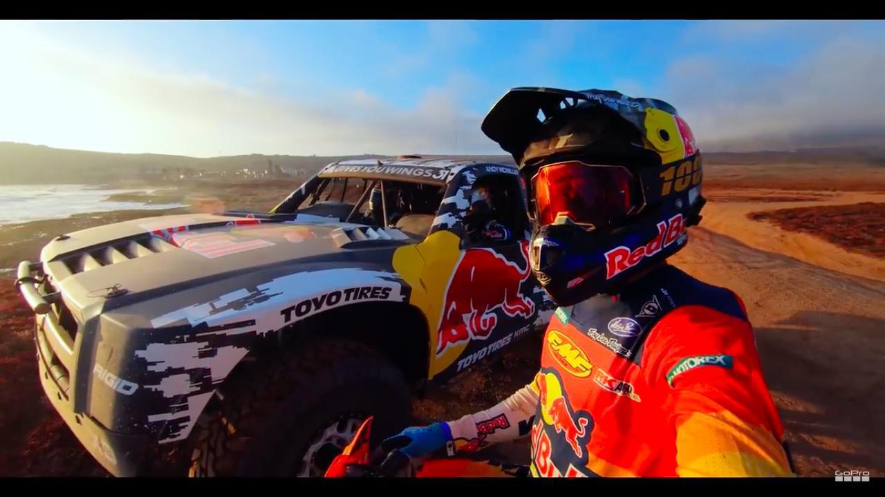画像: 動画のタイトルは「デザート・デュエル」! でも、ガチで勝ち負けを競うというのではなく、華麗なる共演的な内容です。 www.youtube.com