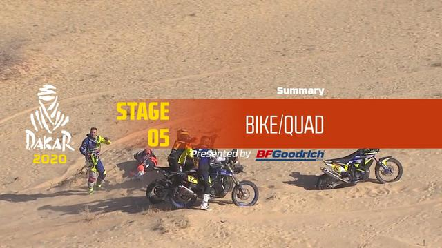 画像: Dakar 2020 - Stage 5 (Al Ula / Ha'il) - Bike/Quad Summary www.youtube.com