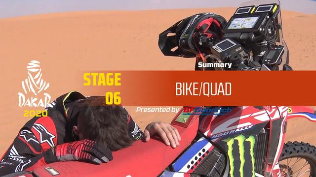 画像: Dakar 2020 - Stage 6 (Ha'il / Riyadh) - Bike/Quad Summary www.youtube.com