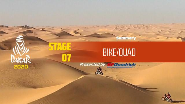 画像: Dakar 2020 - Stage 7 (Riyadh / Wadi Al-Dawasir) - Bike/Quad Summary www.youtube.com