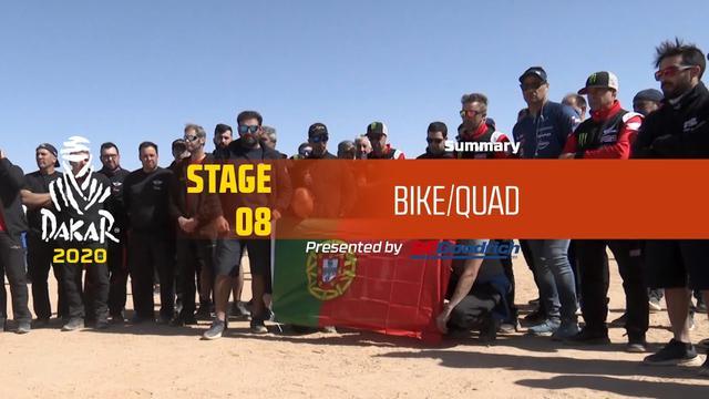 画像: Dakar 2020 - Stage 8 (Wadi Al-Dawasir / Wadi Al-Dawasir) - Bike/Quad Summary www.youtube.com