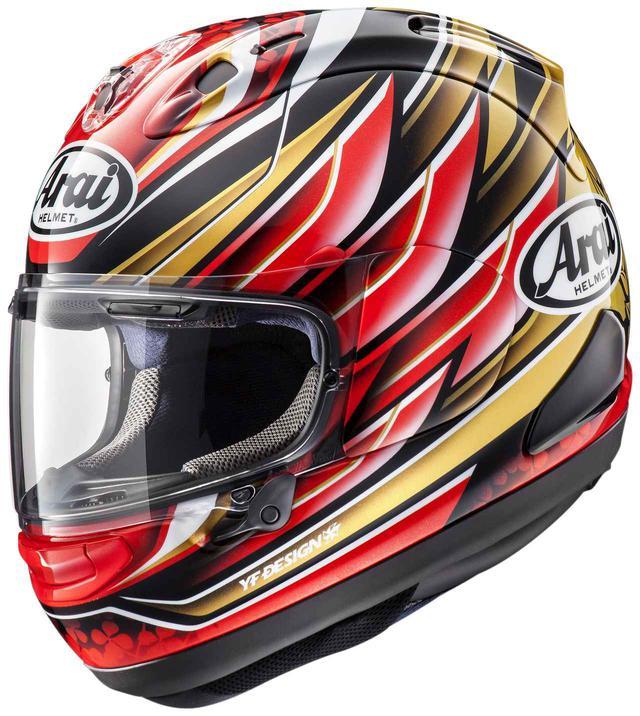 画像: 日本の誇るトップライダーの最新レプリカヘルメットが発売に! - webオートバイ