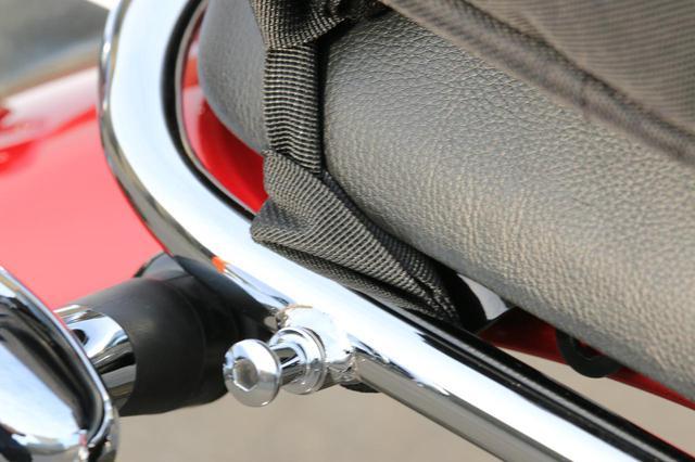 画像1: バイク用バッグの装着はどうか?