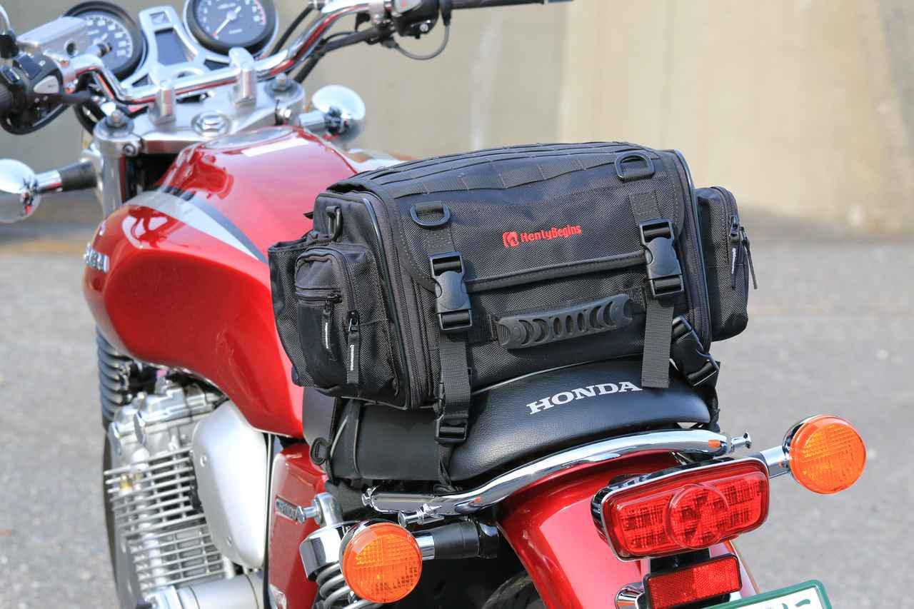 画像23: 【積載インプレ】ホンダ「CB1100EX」/荷掛フックに頼りすぎるのは危険? 使わなくても荷物は積める!