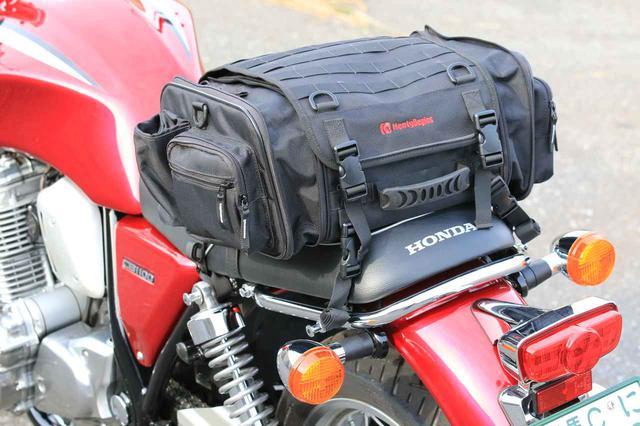 画像4: バイク用バッグの装着はどうか?