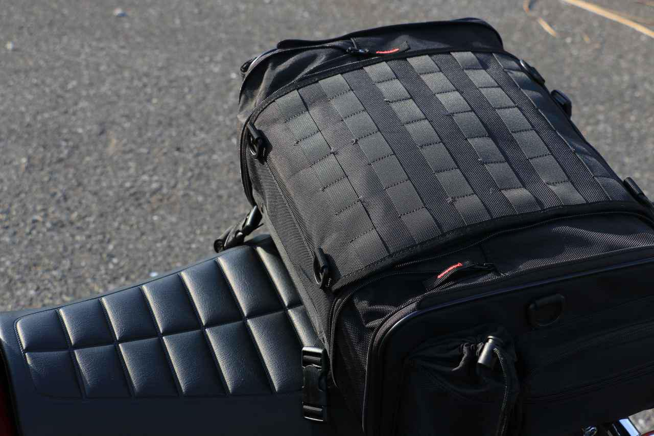 画像3: バイク用バッグの装着はどうか?