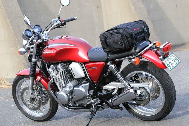 画像13: 【積載インプレ】ホンダ「CB1100EX」/荷掛フックに頼りすぎるのは危険? 使わなくても荷物は積める!