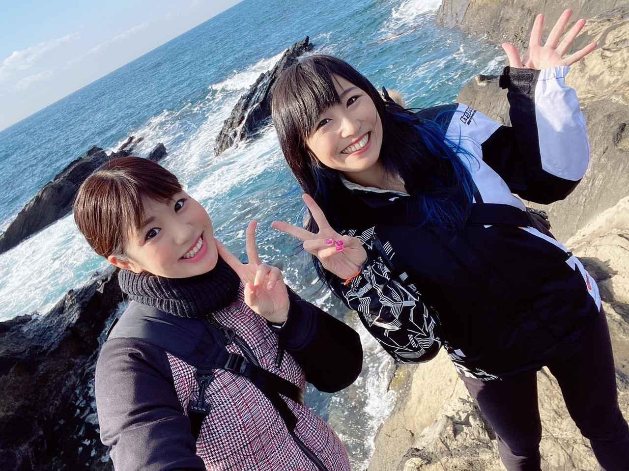 画像: 【女子部のふたツー】冬の綺麗な海沿いツーリング(岡崎静夏編)with梅本まどか