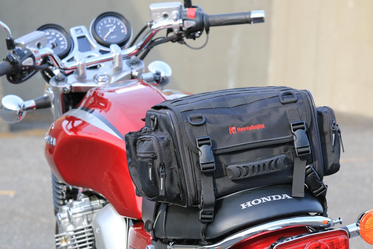 画像11: 【積載インプレ】ホンダ「CB1100EX」/荷掛フックに頼りすぎるのは危険? 使わなくても荷物は積める!