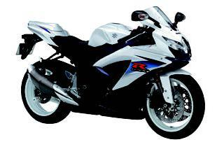 スズキ GSX-R600 2010 年