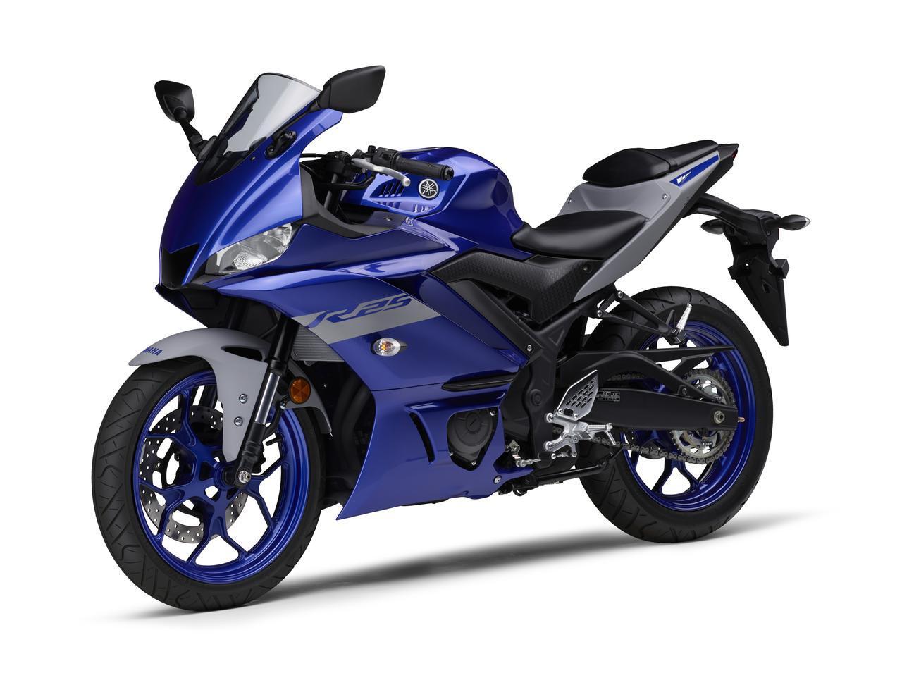 画像26: ヤマハ「YZF-R25/ABS」「YZF-R3 ABS」の2020年モデルが2月14日(金)発売! 3色展開で、すべてニューカラー!
