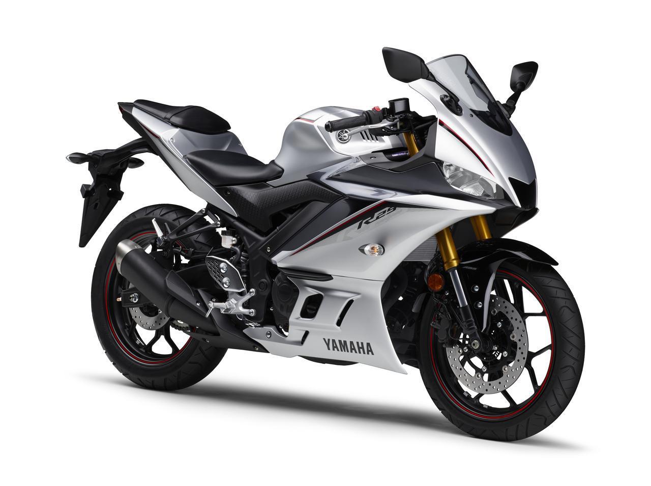 画像21: ヤマハ「YZF-R25/ABS」「YZF-R3 ABS」の2020年モデルが2月14日(金)発売! 3色展開で、すべてニューカラー!