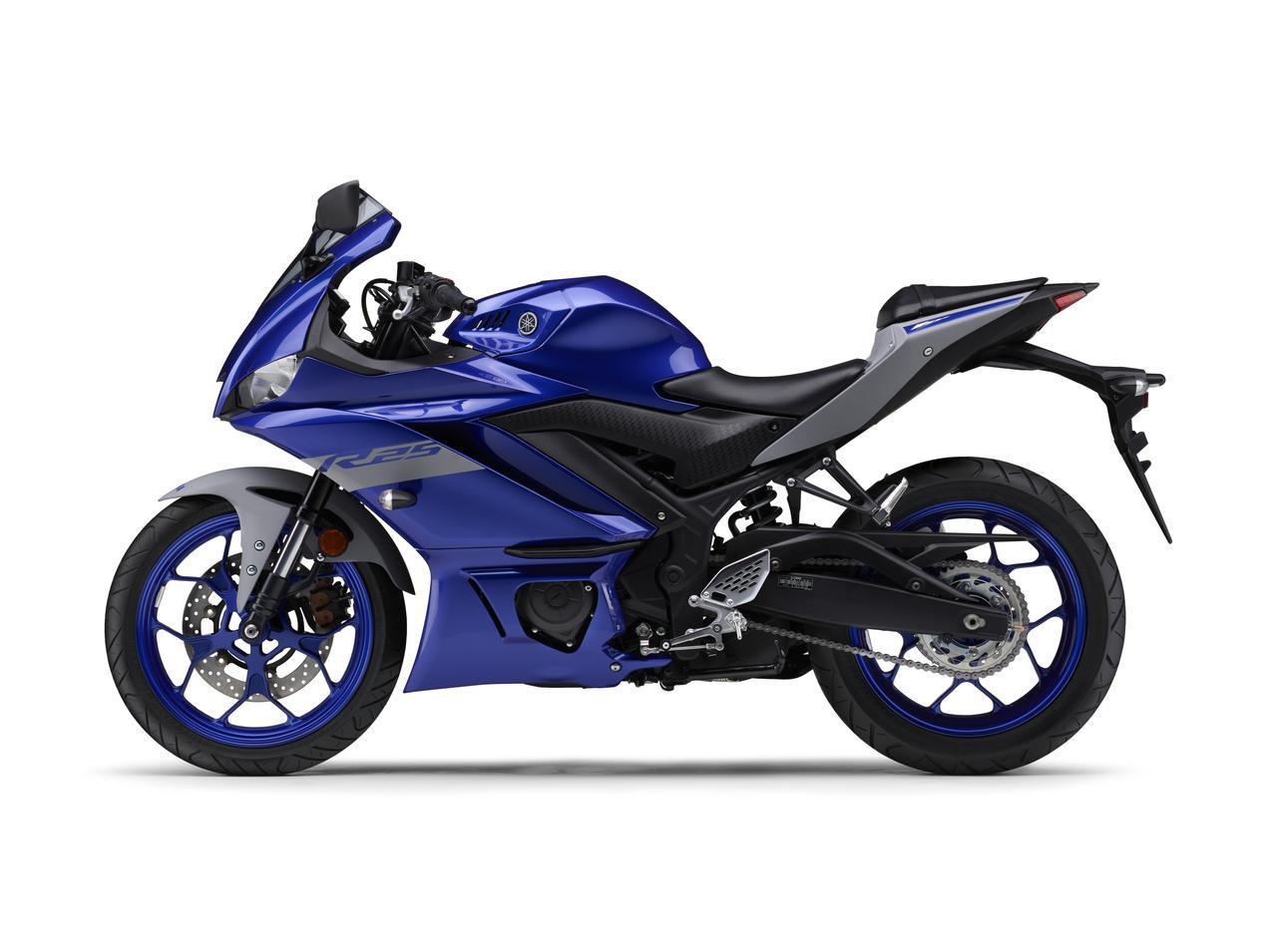 画像28: ヤマハ「YZF-R25/ABS」「YZF-R3 ABS」の2020年モデルが2月14日(金)発売! 3色展開で、すべてニューカラー!