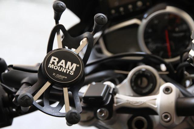 画像: スマホを手軽にマウント! 「ラムマウント」シリーズ - webオートバイ