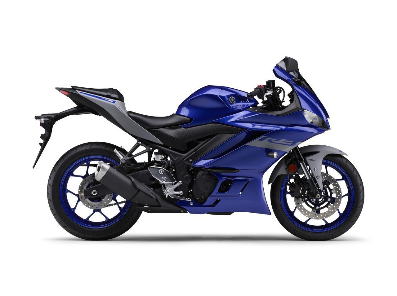 画像3: ヤマハ「YZF-R25/ABS」「YZF-R3 ABS」の2020年モデルが2月14日(金)発売! 3色展開で、すべてニューカラー!