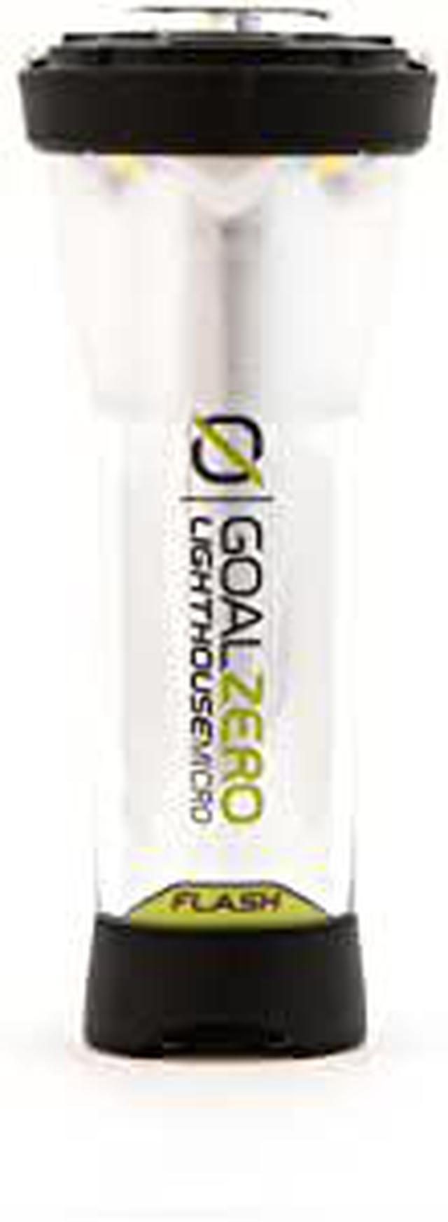 画像: Amazon | Goal Zero LIGHTHOUSE micro FLASH USB充電式LEDミニランタン 150ルーメン 防水 懐中電灯付 XX1366 32005 | GOAL ZERO | パソコン・周辺機器 通販