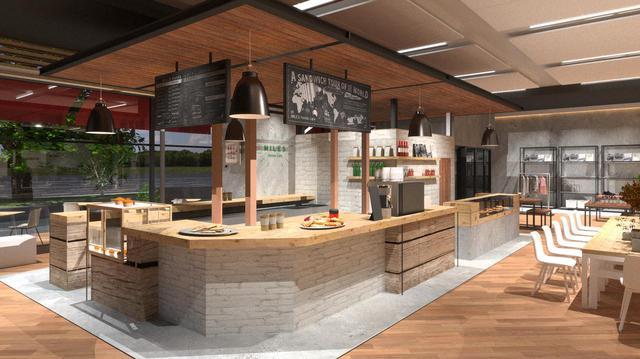 画像: 新たにオープンするカフェ「MILES Honda Cafe」。有名サードウェーブコーヒーの日本導入を手掛けた株式会社WATの石渡康嗣氏が監修されています。