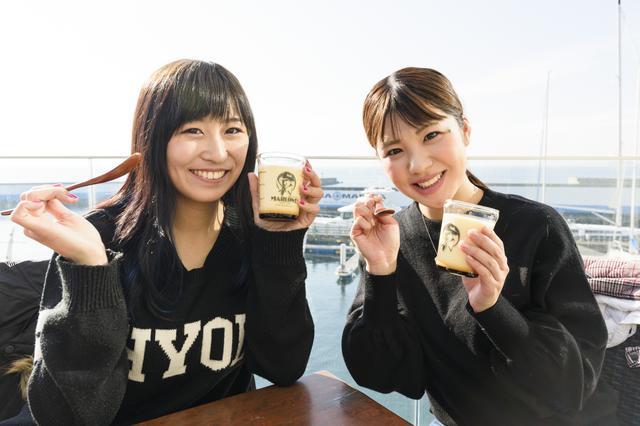 画像4: 次は葉山プリン【マーロウカフェ】へ