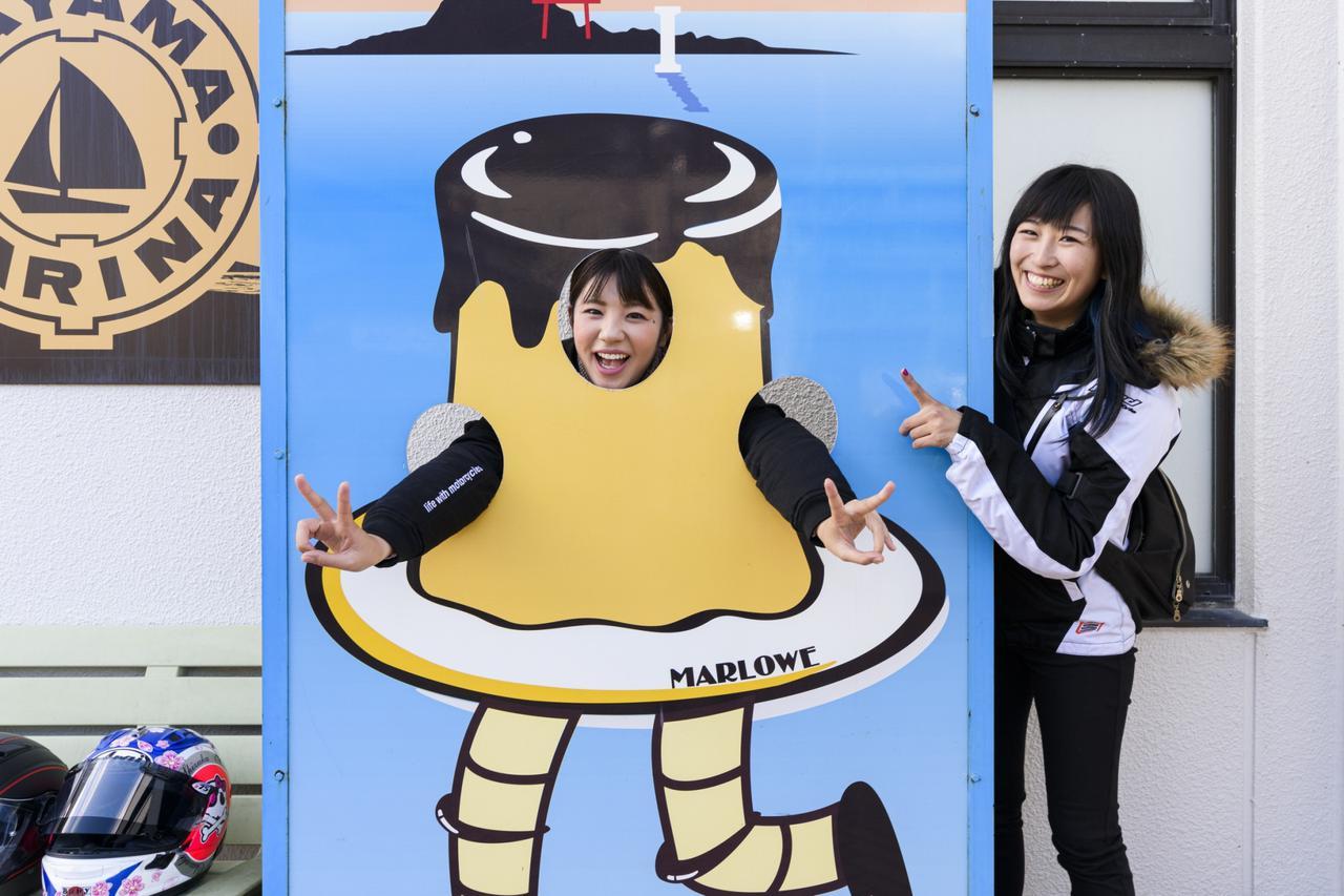 画像8: 次は葉山プリン【マーロウカフェ】へ