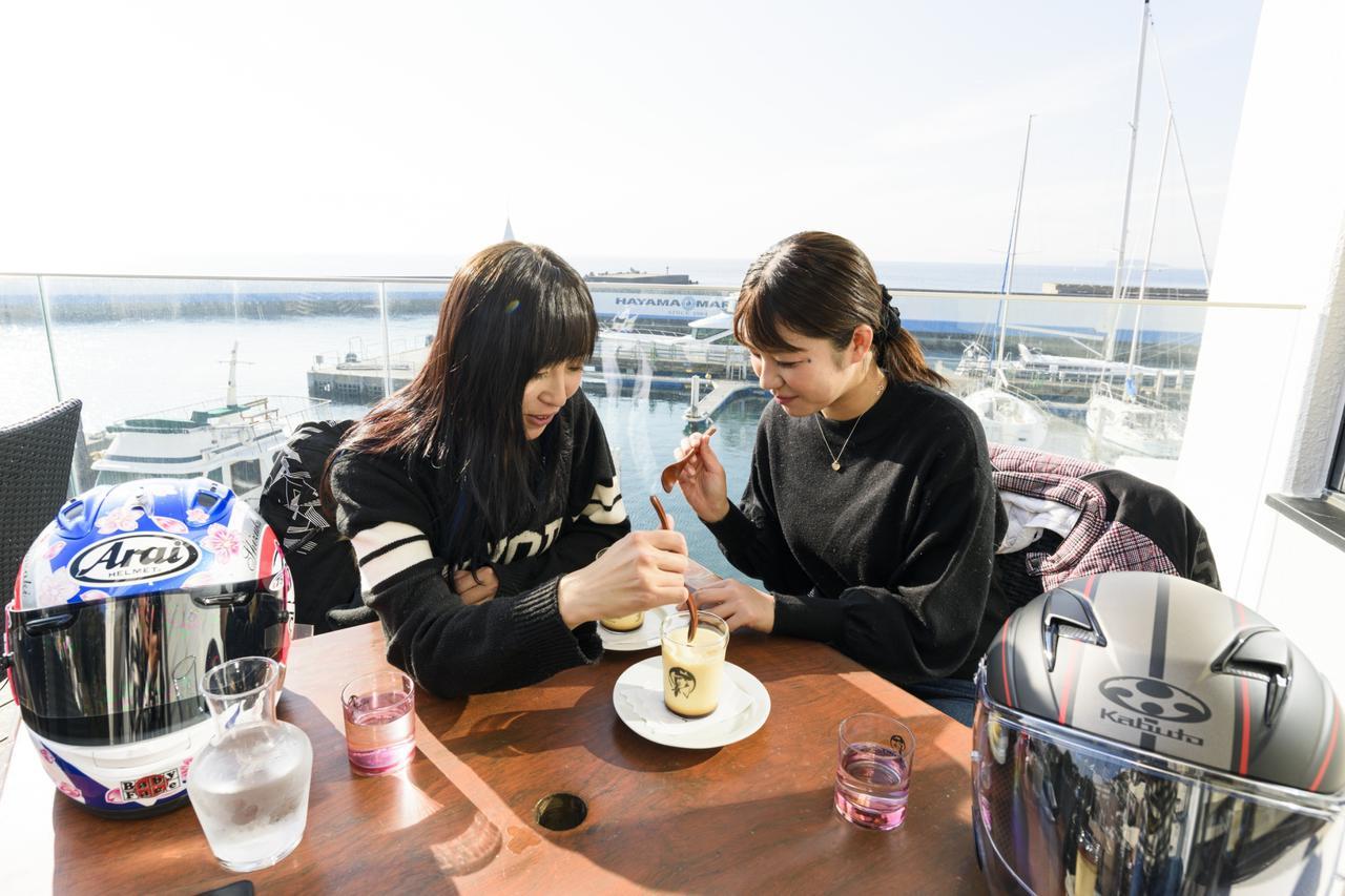 画像6: 次は葉山プリン【マーロウカフェ】へ