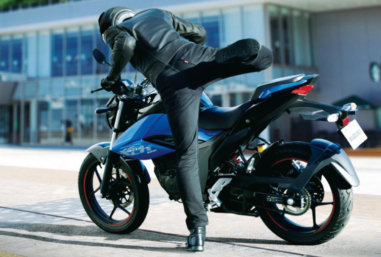 画像: 日常の使い勝手が考慮された快適ロードスポーツ。シート高は795mmで足着き性にも優れています
