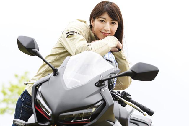 画像5: 大関さおり×Honda CBR650R【オートバイ女子部のフォトアルバム】