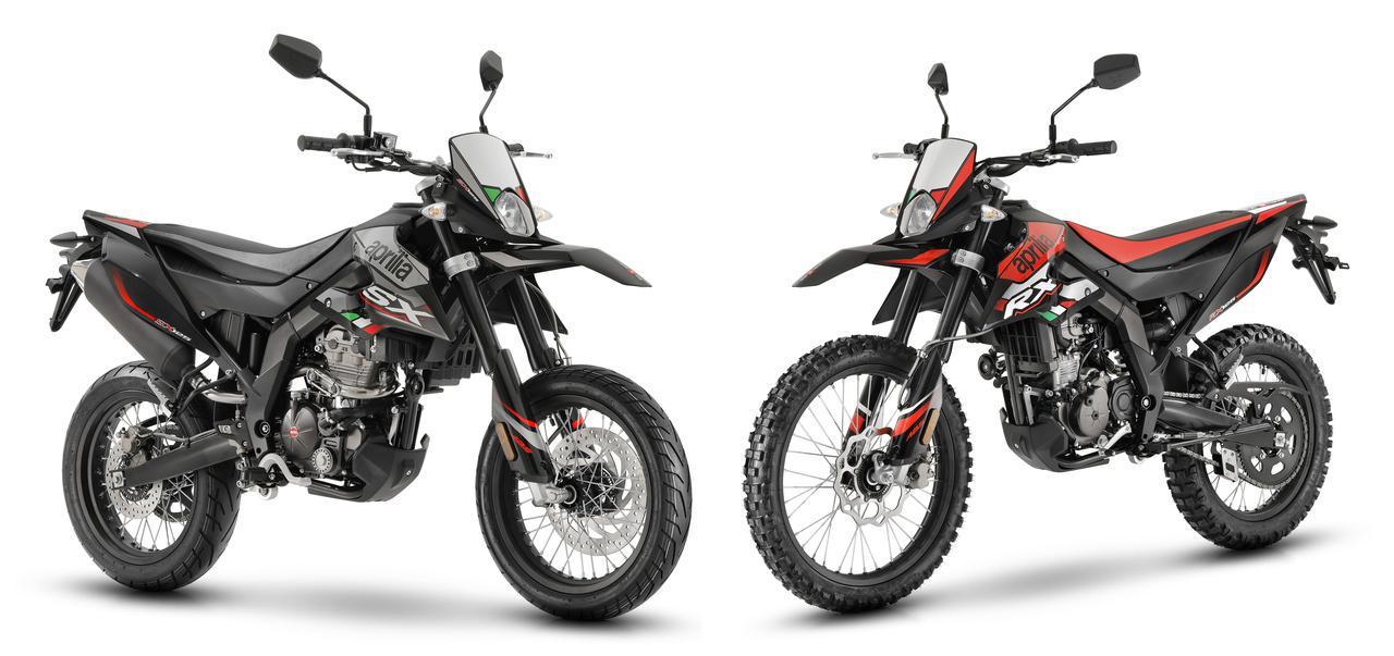 画像: 原付二種のオフロード&モタードモデル、アプリリア「RX 125」「SX 125」の2020年モデルが登場 - webオートバイ