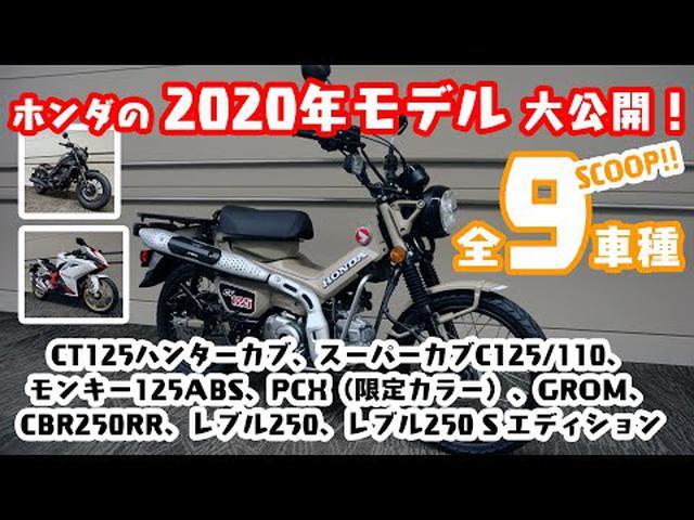 画像: 【全9車種】ホンダの 2020年モデルを大公開! CT125ハンターカブや、新型レブルも! youtu.be