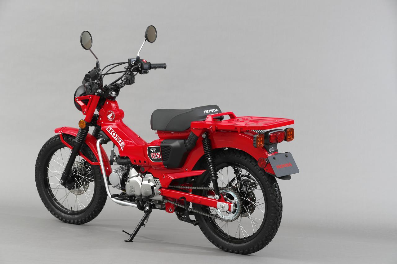 Images : 25番目の画像 - 東京モーターショー2019で初披露された「CT125」と比べて見る - webオートバイ