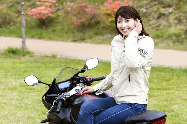 画像4: 大関さおり×Honda CBR650R【オートバイ女子部のフォトアルバム】