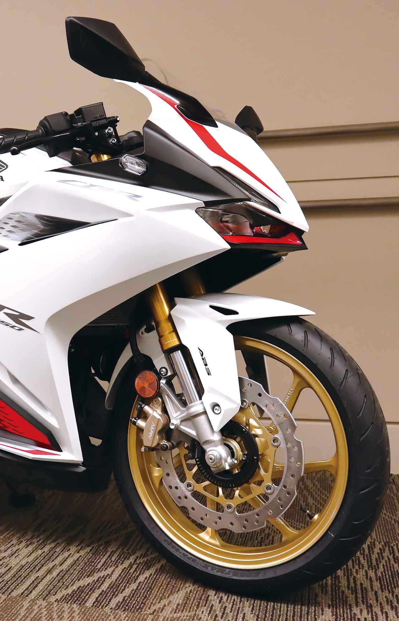 Images : 2番目の画像 - 「CBR250RR」ホワイト(市販予定車)2020年ニューカラーの写真をもっと見る - webオートバイ
