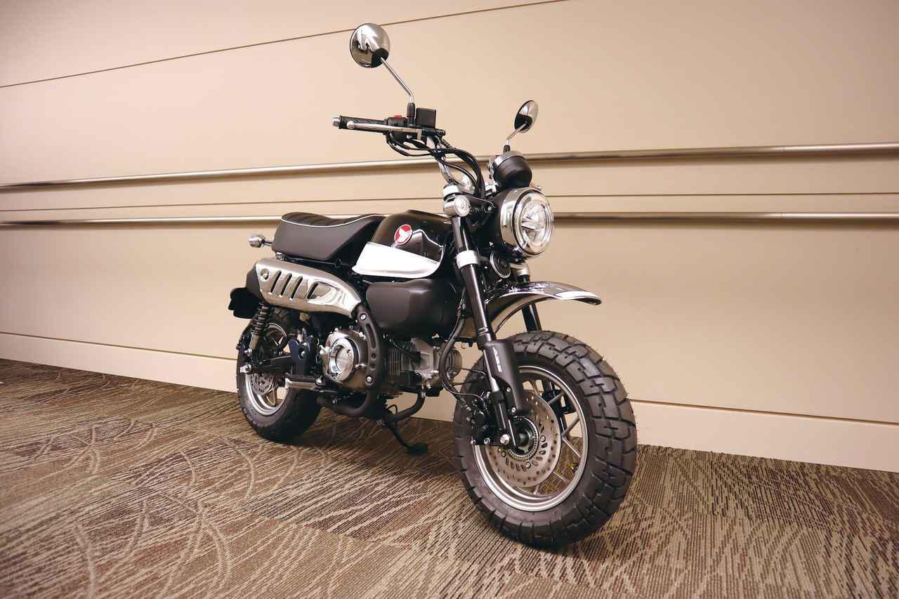 画像: 「モンキー125 ABS」ブラック(市販予定車)2020年ニューカラー