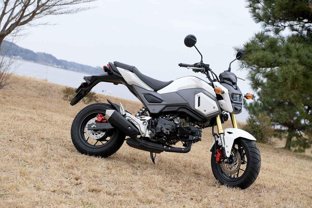 画像: スポーツバイクの魅力を知るには最適な一台! それが原付二種のHonda「GROM」 - webオートバイ