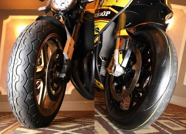 画像: ダンロップが2種類の新タイヤ「SPORTMAX Q4」「TT100GP Radial」を発表! - webオートバイ