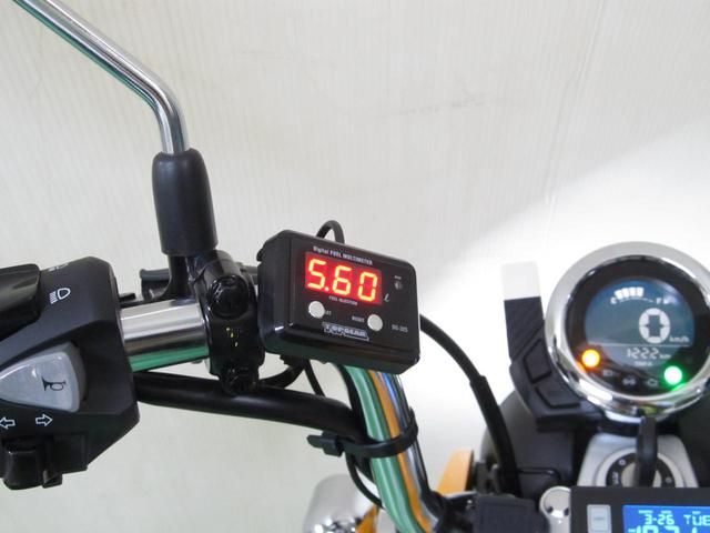 画像: モンキー125用 精密燃料計 - webオートバイ