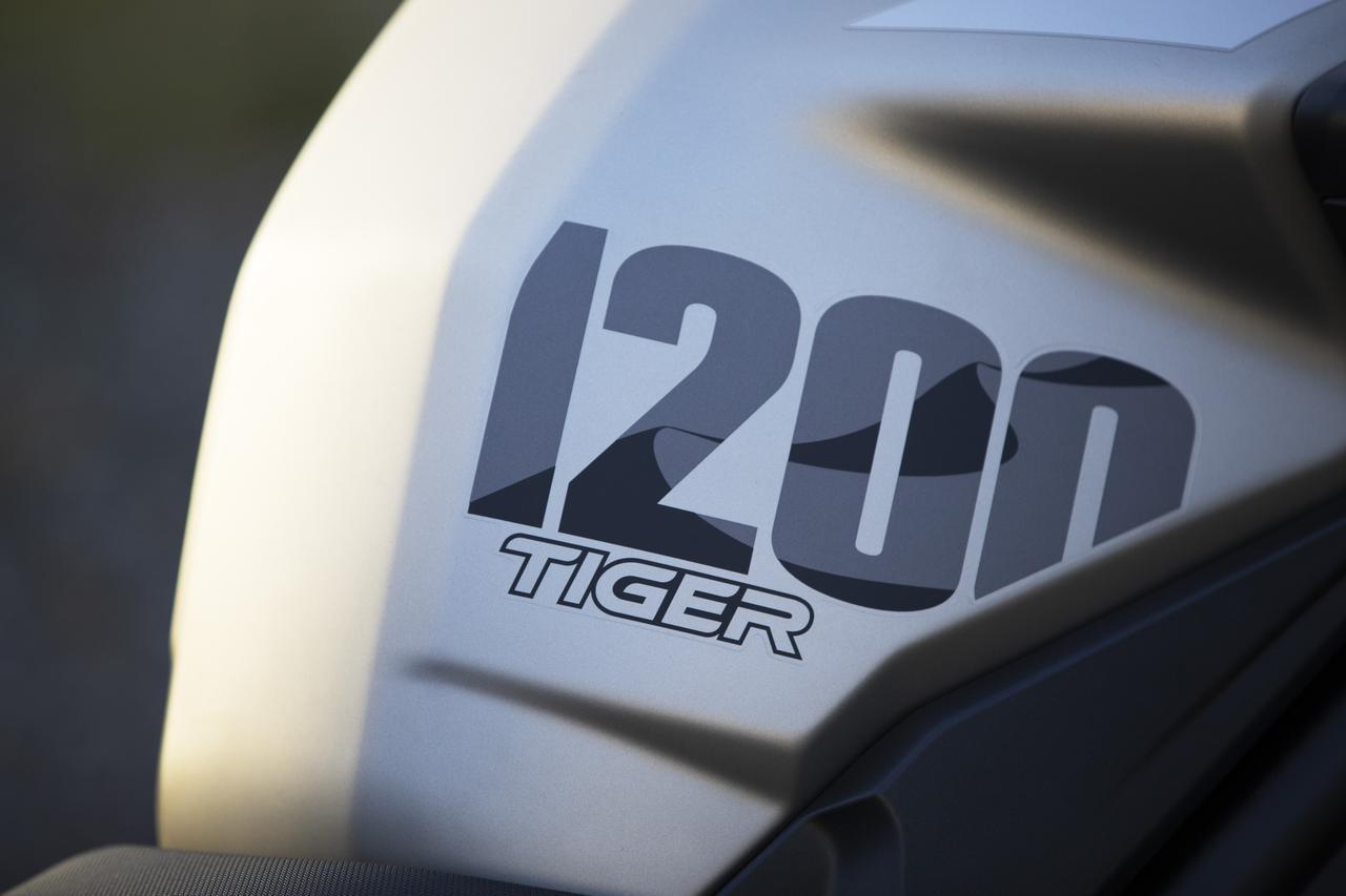 画像5: 【ニューモデル】トライアンフのフラッグシップ・アドベンチャー「TIGER 1200 DESERT スペシャルエディション」が2020年春に発売されます!