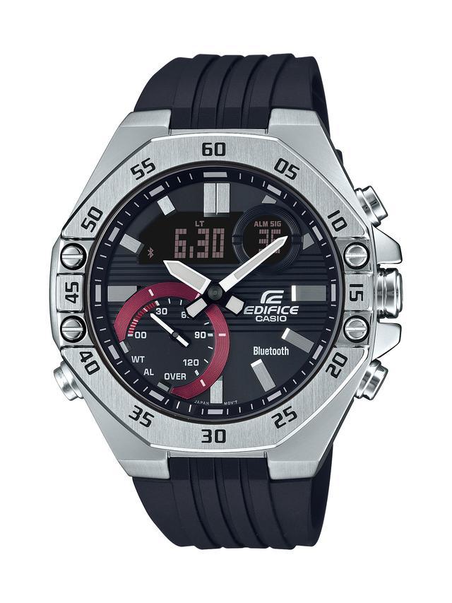 画像5: モータースポーツの世界観から生まれた「エディフィス」の高機能腕時計「ECB-10」が3月6日に発売