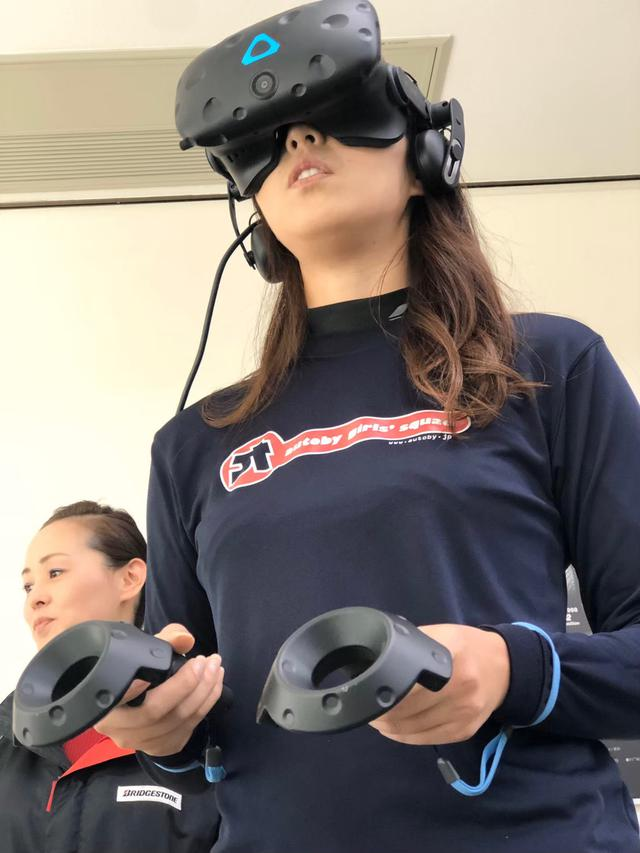画像: VRで体験!タイヤを作ろう♪