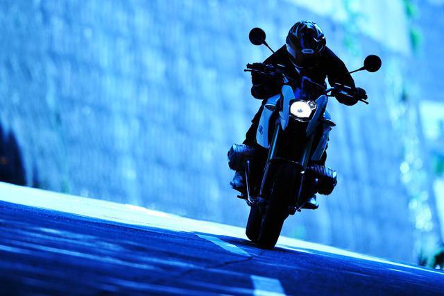 画像: BMW HP2 MEGAMOTO(2008年撮影)