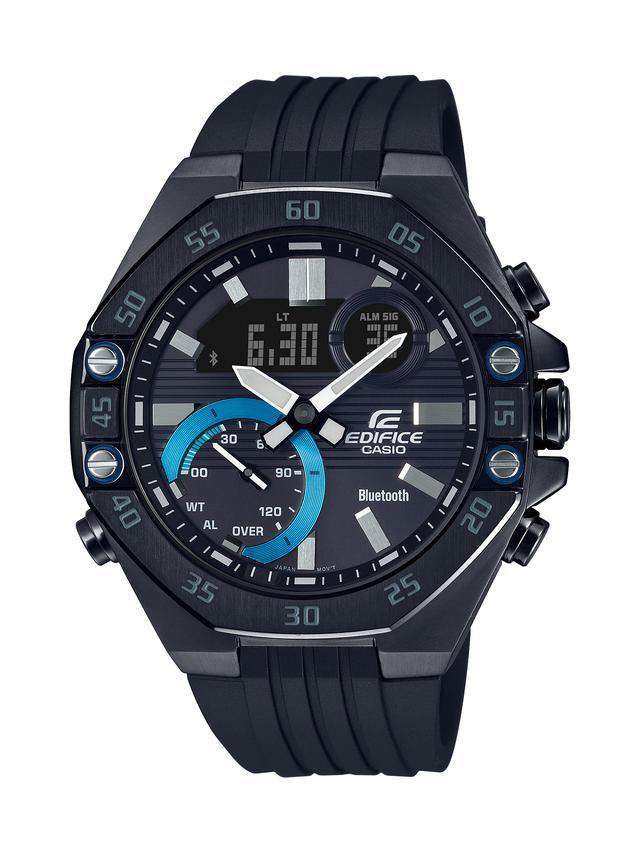 画像6: モータースポーツの世界観から生まれた「エディフィス」の高機能腕時計「ECB-10」が3月6日に発売