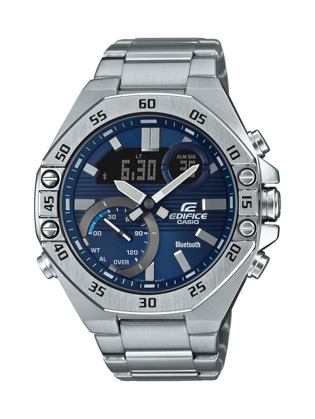 画像2: モータースポーツの世界観から生まれた「エディフィス」の高機能腕時計「ECB-10」が3月6日に発売