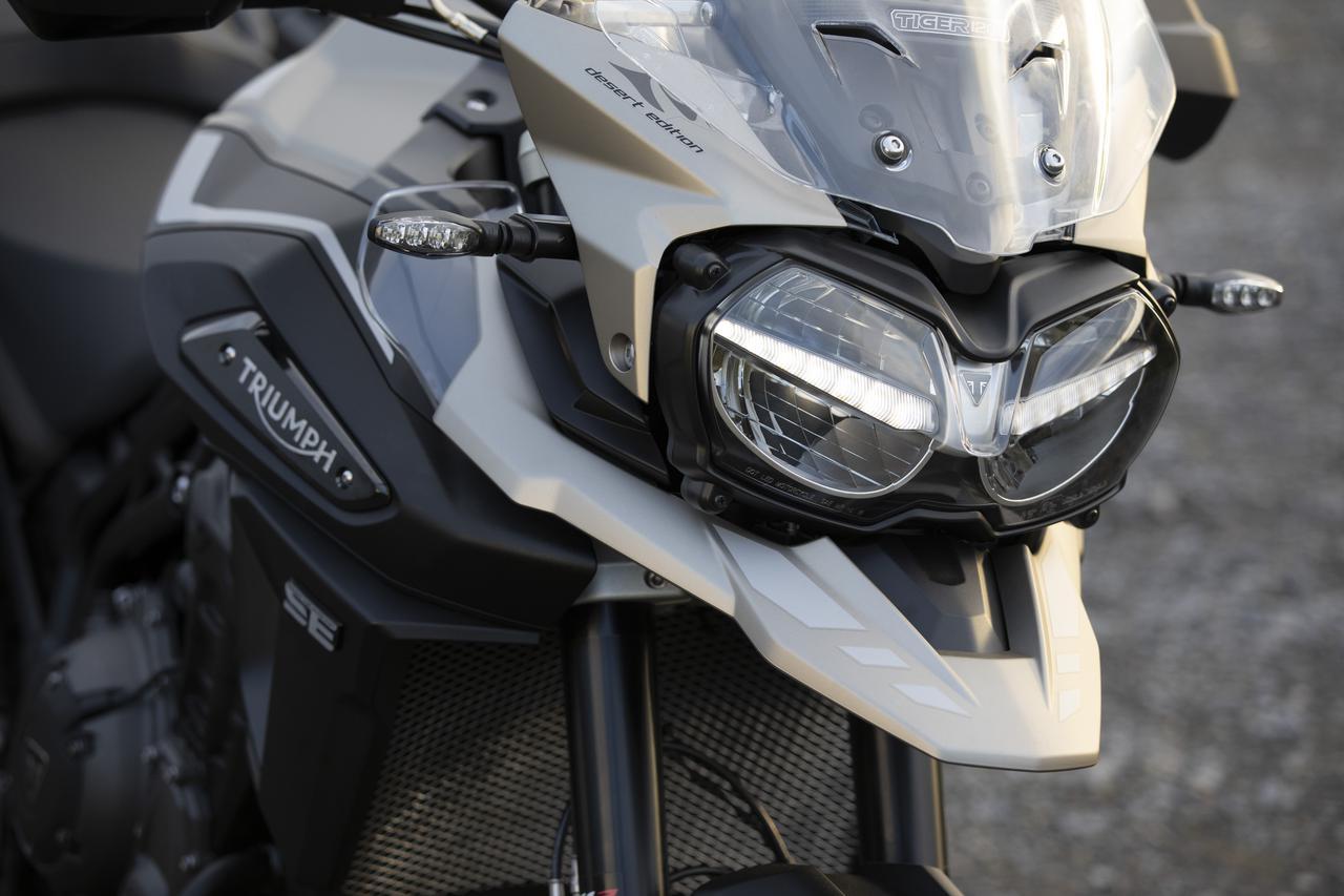 Images : 6番目の画像 - 「Tiger 1200 Desert Special Edition」の写真をもっと見る - webオートバイ
