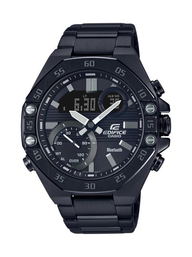 画像4: モータースポーツの世界観から生まれた「エディフィス」の高機能腕時計「ECB-10」が3月6日に発売