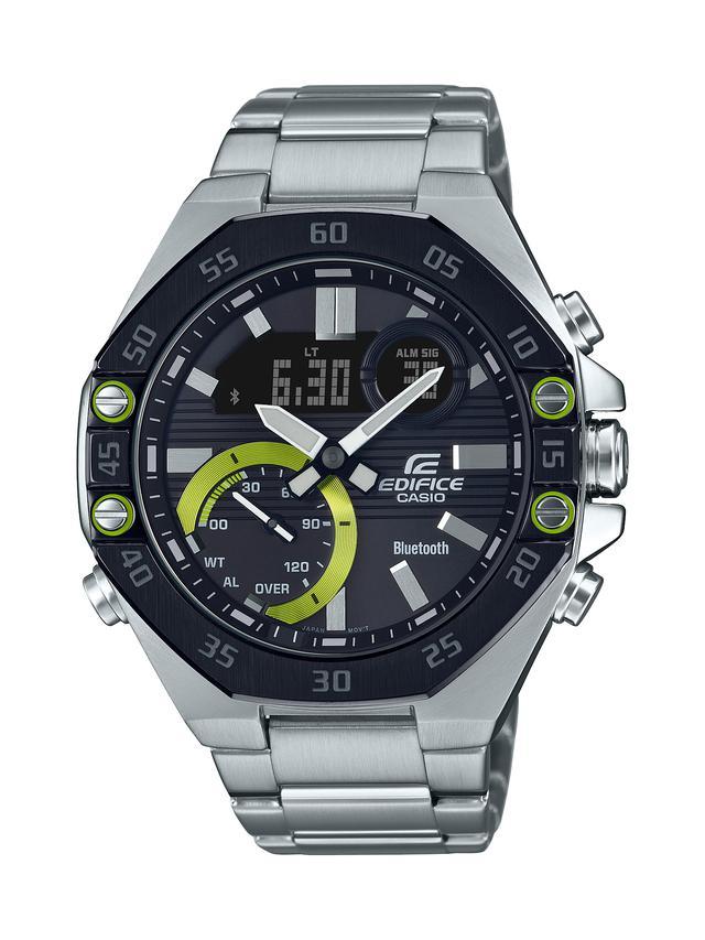 画像3: モータースポーツの世界観から生まれた「エディフィス」の高機能腕時計「ECB-10」が3月6日に発売