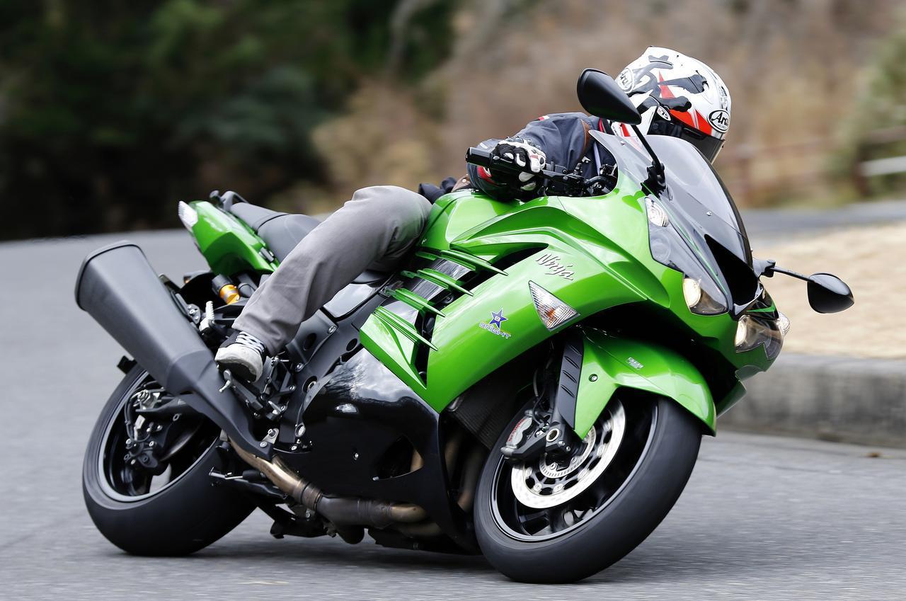 画像: 〈試乗インプレ〉カワサキ「Ninja ZX-14R」 変わりゆくメガスポーツの概念(2018年) - webオートバイ