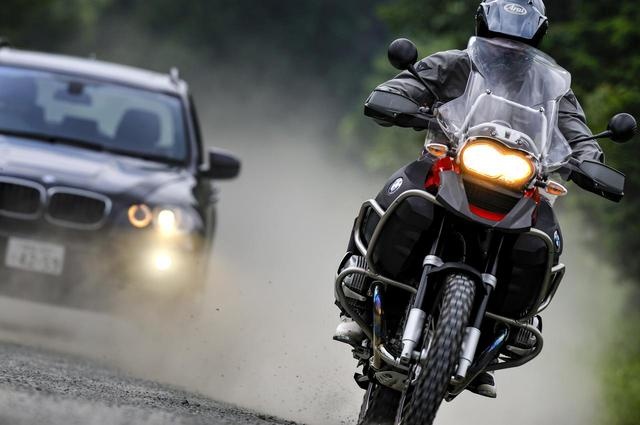 画像: BMW R1200GS ADVENTURE(2008年撮影)