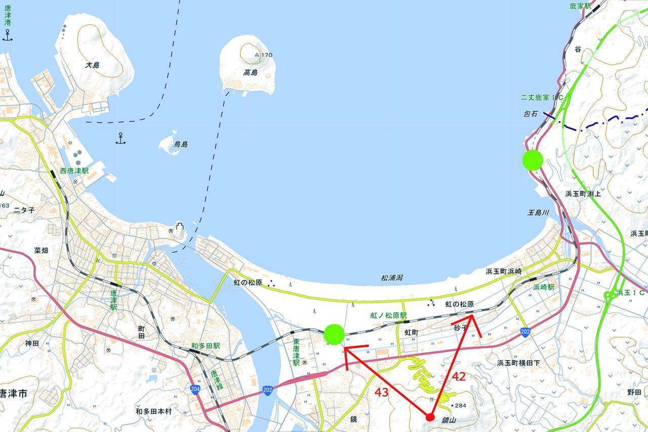 画像2: 筑肥線(虹ノ松原~東唐津)